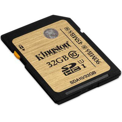 Thẻ nhớ máy ảnh Kingston 32GB SDHC C10 UHS-I 45MB/s