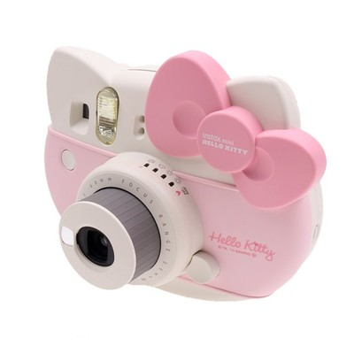 Máy chụp ảnh ra hình ngay Instax Mini 8 Fujifilm kiểu dáng Hello Kitty