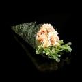 P10. Da cá hồi nướng , trứng cá chim& mayo
