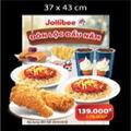 4000304:2 Gà rán + 2 Mì ý + 1 Khoai tây vừa + 1 Bánh Taro + 2 Pepsi + 2 Kem vani