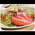 Salad bơ cá hồi