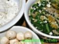 Cơm Canh Cua Nấu Cải Xanh (1 người)