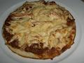 B3 Pizza cheezy gà với đậu