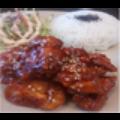 Cơm gà sốt chua ngọt kiểu Hàn