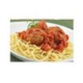 Mì Ý sốt cà chua, thịt viên phô mai