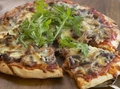 Roast beef pizza