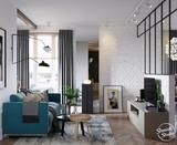 Căn hộ 3 phòng ngủ theo phong cách Scandinavian đẹp hoàn hảo như một bài thơ