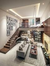 Những thiết kế gác lửng đẹp như mơ cho nhà nhỏ hóa rộng thênh thang