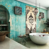 Chọn màu ngọc lam cho nhà tắm chính là xu hướng thiết kế mới nhất trong năm tới