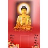 Tranh Lịch Tết đón xuân Phật Thích Ca (1008)