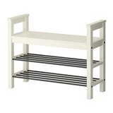 HEMNES - Kệ giầy 3 tầng/Bench with shoe storage