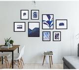 Bộ 8 khung tranh treo tường phòng khách hiện đại