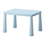 MAMMUT - Bàn 77 x 55cm/Children's table, light blue