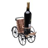 Kệ rượu hình xích lô chở rượu Eden Living EDL-R016