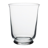 POMP - Lọ hoa, để nến 18cm/Vase/lantern, clear glass