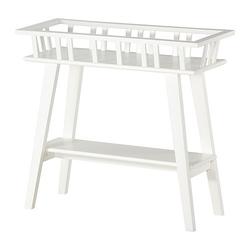 LANTLIV - Giá để chậu cây/Plant stand, white