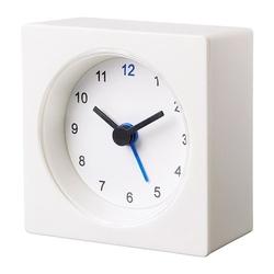 VÄCKIS - Đồng hồ báo thức trắng 8cm
