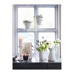 SKURAR - Chậu hoa trắng 15cm