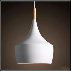 Đèn thả đui gỗ A B C chao đơn A kích thước 240mm