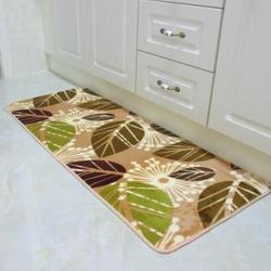 Bộ Thảm bếp 3 miếng mặt nỉ bông, đế cao su chống trượt TM14