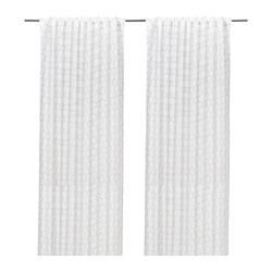 FLÖNG - Rèm cửa 250 x 145/Curtains, 1 pair