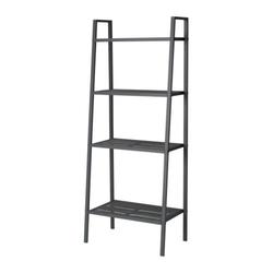 LERBERG - Giá sắt/Shelf unit, dark grey